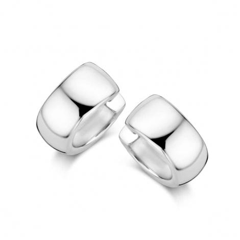 Boucles d'oreilles en argent serties de zirconium Naiomy Silver Silver - Femme - Eugénie - N0J52