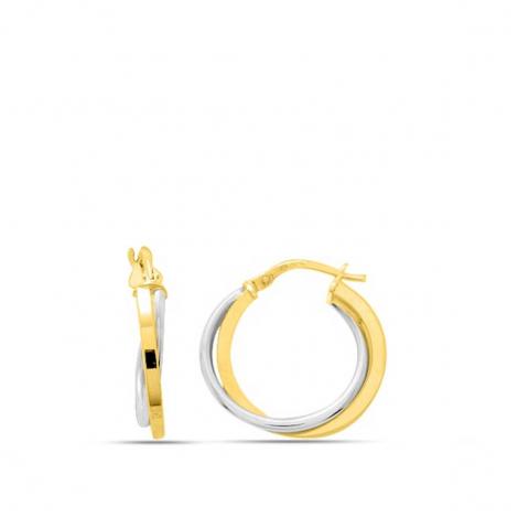 Boucles d'oreilles fantaisie 2 Ors 1.4 g Caprice - 3538.3G