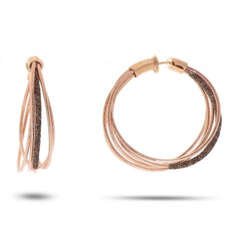Boucles d'oreilles Pesavento DNA Spring Rosé - Bronze - Valentine - WDNAO130