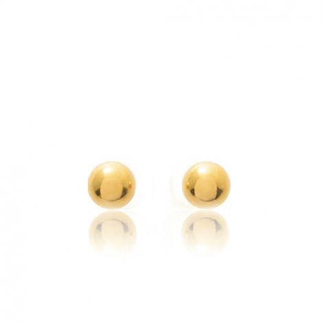 Boucles d'oreilles Sphère Or Jaune Adrienne - 650020