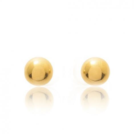 Boucles d'oreilles Sphère Or Jaune Clarisse - 650059