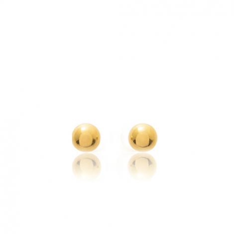 Boucles d'oreilles Sphère Or Jaune Yuliana - 650056