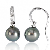 Boucles Tahiti diamants - 9 mm-Anaïs- ref 720777-D