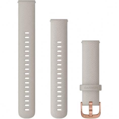 Bracelet à dégagement rapide Beige sable - 18mm - Garmin - 010-12924-32