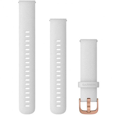 Bracelet à dégagement rapide Blanc - 18 mm - Garmin - 010-12932-02