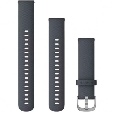 Bracelet à dégagement rapide Bleu granit - 18mm - Garmin - 010-12924-30