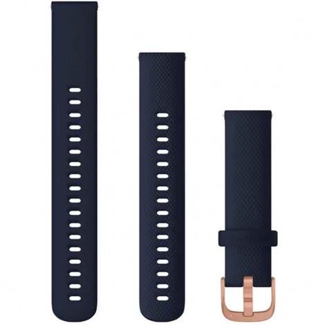 Bracelet à dégagement rapide Bleu Marine - 18 mm - Garmin - 010-12924-33