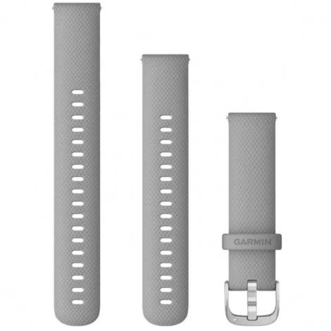Bracelet à dégagement rapide Gris Poudré - 18 mm - Garmin - 010-12932-00