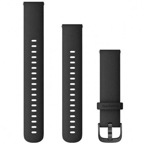 Bracelet à dégagement rapide Noir - 18mm - Garmin - 010-12932-01