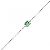 Bracelet argent et oxydes Naiomy Silver - Femme - Matahina - N8C09