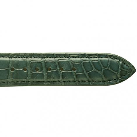 Bracelet de montre Crocodile Homme de couleur Kaki -Naïa - 18114-20