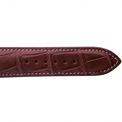 Bracelet de montre Crocodile Homme de couleur Miel -Alessandra - 18614E-08