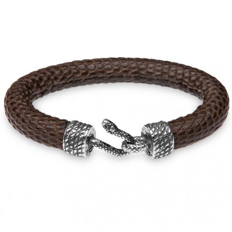 Bracelet Cuir Platadepalo Animalia Marron - KOK7
