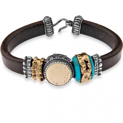 Bracelet Cuir Platadepalo Classic Marron - CB4A