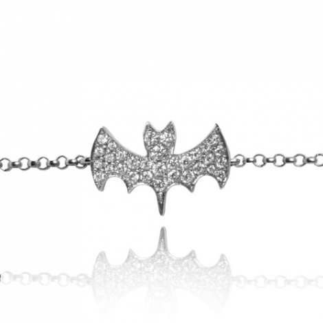 Bracelet diamant 0.15 ct G-VS en Or Blanc - Étincelante - FR28-B2100