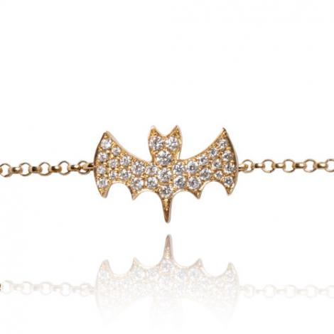 Bracelet diamant 0.17 ct G-VS en Or Jaune - Élisabeth - FR28-B2100Y
