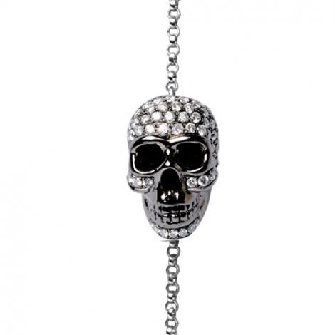 Bracelet diamant 0.2 ct G-VS en Or Noir - Alessandra - FR28-B2097-NOIR