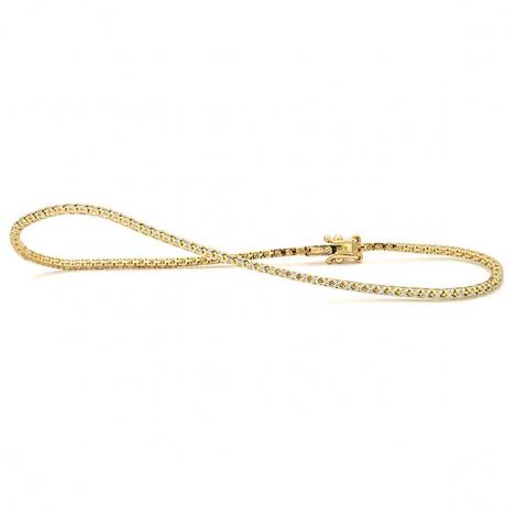 Bracelet diamant 0.25 ct G-VS en Or Jaune - Kathleen - B9000RVGYNY00