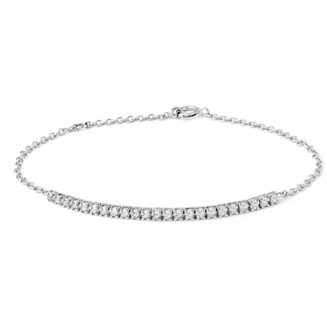Bracelet diamant 0.33 ct G-VS en Or Rose - Douceur - B2352FMPWAY00