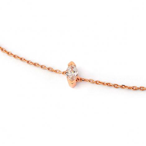Bracelet diamant Sweet Paris 0.11 ct Floralie- B2487