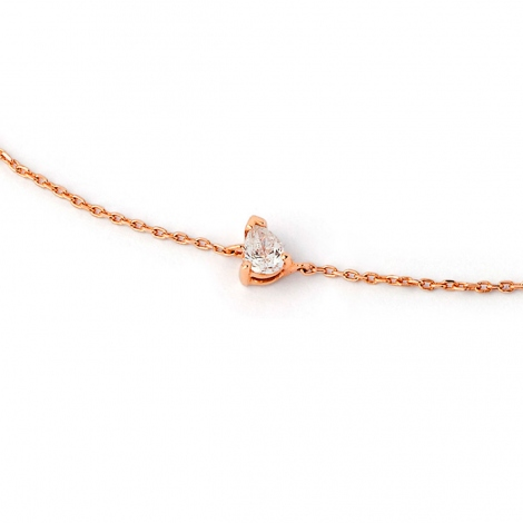 Bracelet diamant Sweet Paris 0.14 ct Mitsuko- B2486