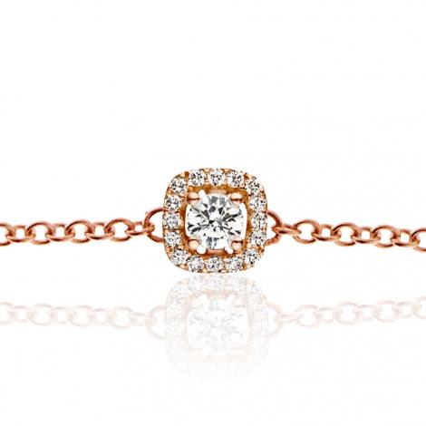 Bracelet diamants One More 0.10 ct - Salina -047912A