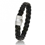 Bracelet  en Cable cuir et or Laélia