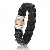 Bracelet  en Cable cuir et or Noémie