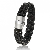 Bracelet  en Cable cuir et or Tara