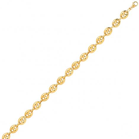 Bracelet en or 9 carats Grain de Café 3.2 mm - 3.1g Élisabeth