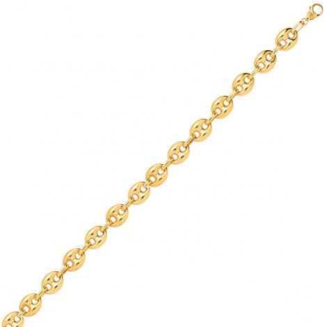 Bracelet en or 9 carats Grain de Café 3.5 mm - 3.85g Aria