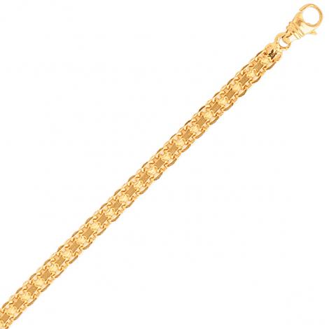 Bracelet en or maille Bismarck 1,7mm - 1.4g Justine
