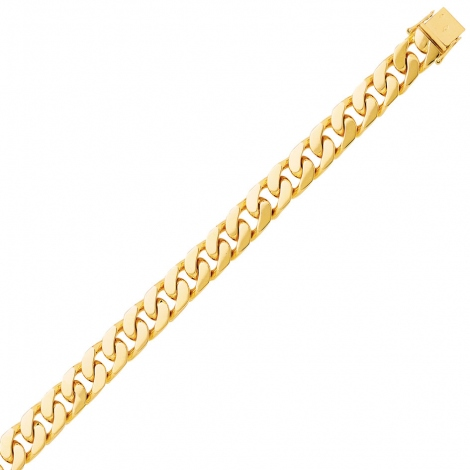 Bracelet en or maille Gourmette 6mm - 28.26g Shelly