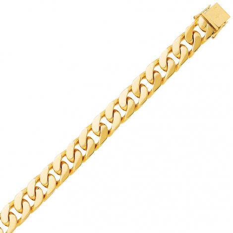 Bracelet en or maille Gourmette 7mm - 40.05g Shanna