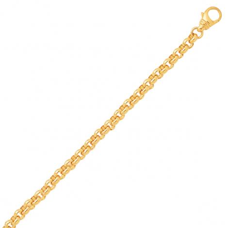 Bracelet en or maille jaseron 3.5mm - 8.65g Anastasia