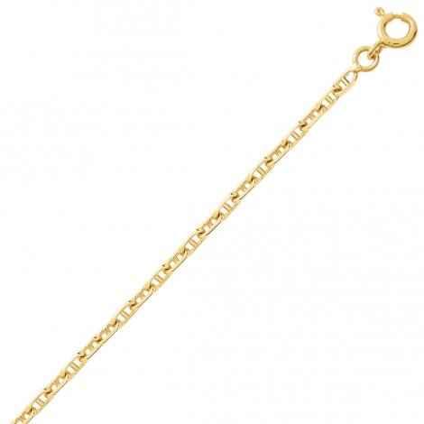 Bracelet en or maille marine 1.5mm - 0.8g Yustina