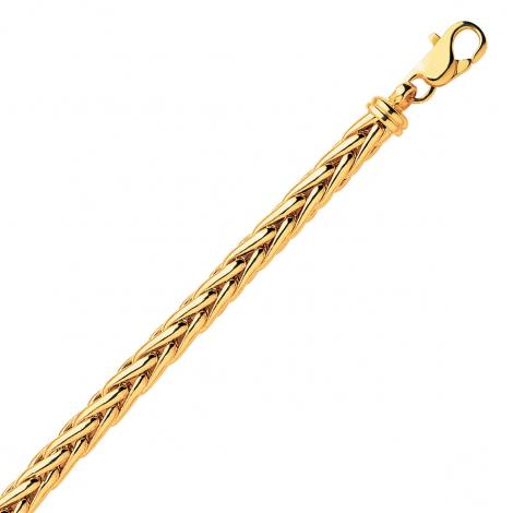Bracelet en or maille Palmier 4mm - 7.45g Alyona