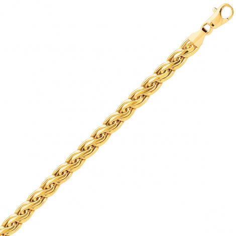 Bracelet en or maille S de 4mm - 6.75g Théa