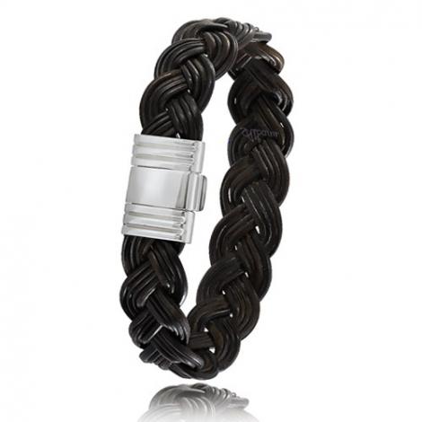 bracelet poils d 39 l phant et or albanu 696telorblanc. Black Bedroom Furniture Sets. Home Design Ideas
