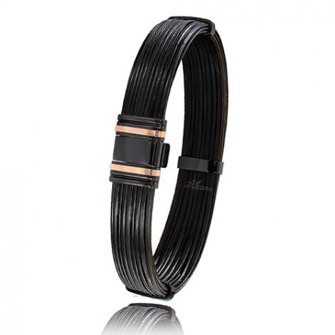 - Bracelet en Poils d'éléphant or PVD 0.45g - 13 mm Alanna - 698NELORrose