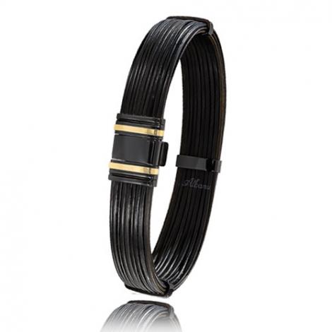 - Bracelet en Poils d'éléphant or PVD 0.45g - 13 mm Chloé - 698NELORjaune