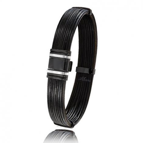 bracelet poils d 39 l phant or pvd albanu 698nelorblanc. Black Bedroom Furniture Sets. Home Design Ideas
