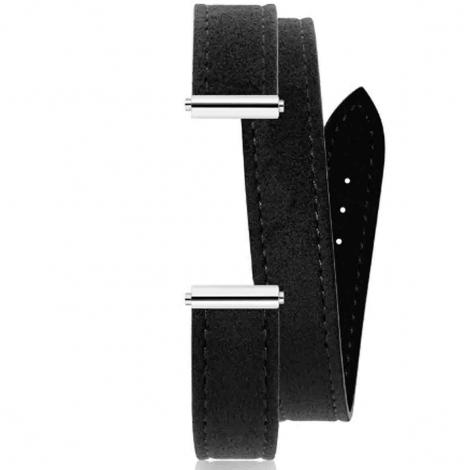 Bracelet interchangeable Herbelin Alcantara Noir 17048.67
