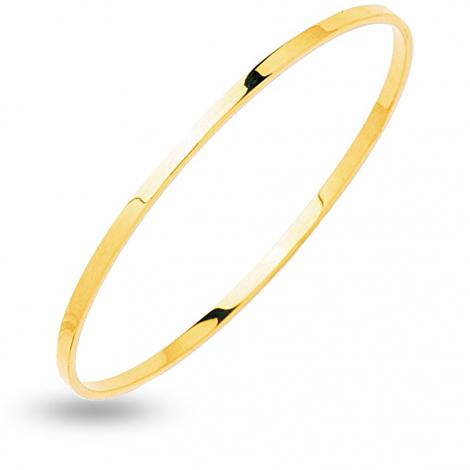 Bracelet jonc fil rectangle massif 4mm Ariella - 356.4