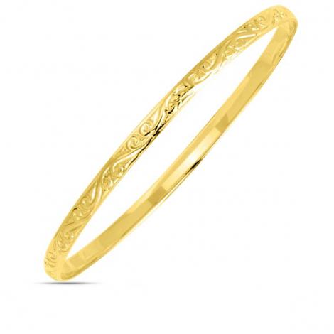 Bracelet jonc or jaune Anaève - 367