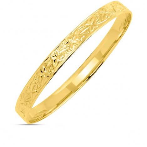 Bracelet jonc or jaune Louna - 364