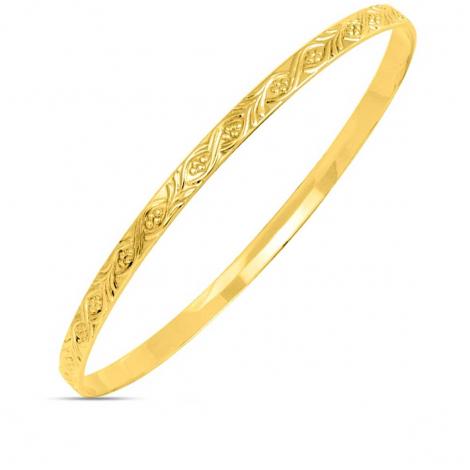 Bracelet jonc or jaune Marya - 389