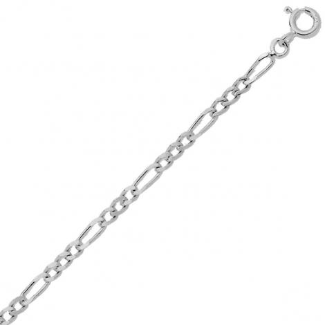 Bracelet maille Alternée 1.4mm - 0.9g Or 9 ct - 375/1000-Anya