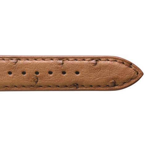 Bracelet Montre Autruche Mat Gold Takara - 18108-02