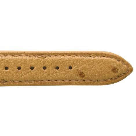 Bracelet Montre Autruche Mat Naturel Rhodia - 18108-25